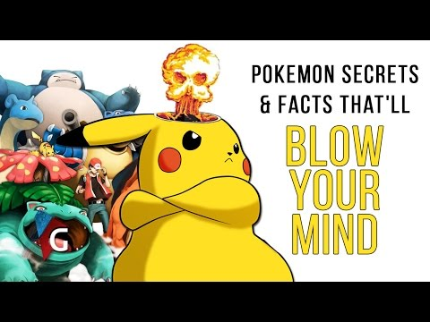 10 Pokemon Facts & Secrets That Will Blow Your Mind!!