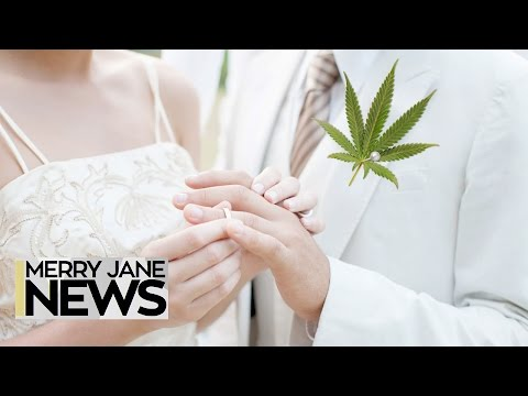 How to Incorporate Weed Into Your Wedding | MERRY JANE News