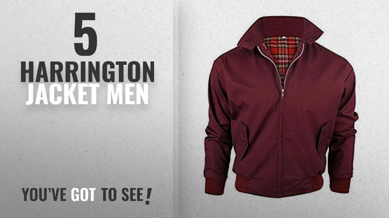 7cb2d4015 Top 10 Harrington Jacket Men [2018]: Vintage Harrington New Adults British  Made Harrington Jacket