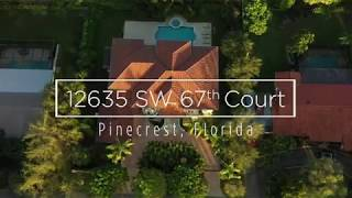 12635 SW 67 Ct Pinecrest  Filmed by Casa Cinematica