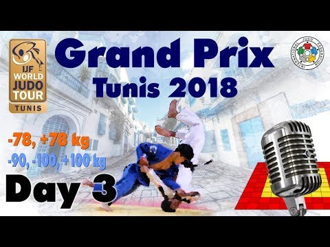 Judo Grand-Prix Tunis 2018: Day 3