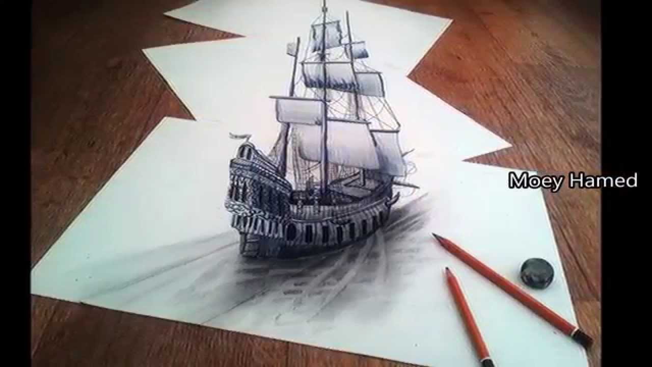 The best 3d pencil drawings