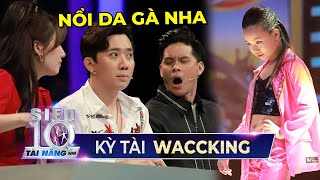 Siêu nhí vừa bước ra đã khiến Trấn Thành, Hari Won NỔI DA GÀ là một kỳ tài Waccking | STNN TẬP 10