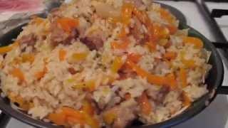 Как приготовить плов? (видео рецепт)(Плов - очень вкусное блюдо. В этом видео рецепт плова!Показываю, как самым простой рецепт приготовления..., 2014-05-13T09:50:33.000Z)