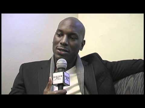 Tyrese talks about