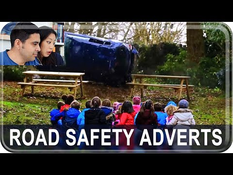 Americans React to Irish Road Safety Adverts
