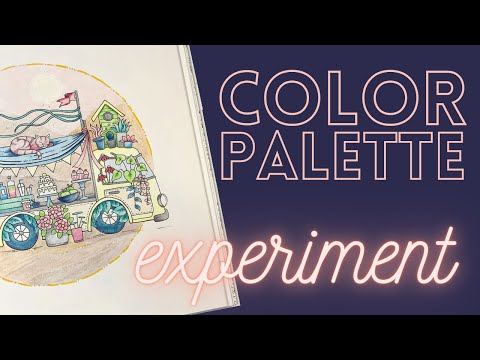 A color palette experiment! – Did I pass or fail??