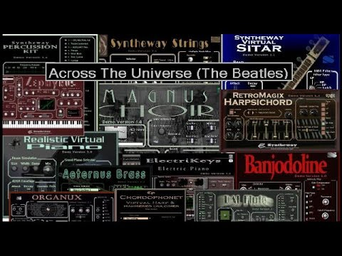 Across The Universe (The Beatles) Magnus Choir, Flute, Banjodoline, Harp, Syntheway Strings VST