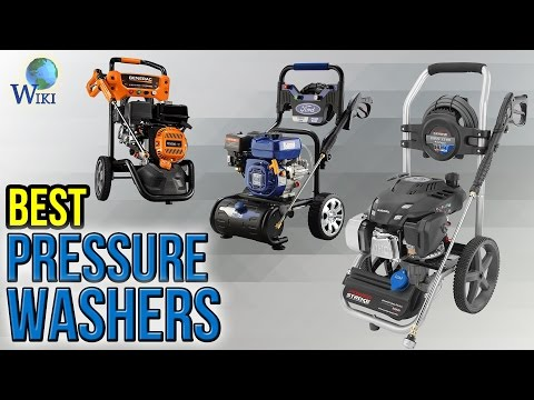 10 Best Pressure Washers 2017