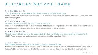 National News Headlines for 24 May 2019 - 6 PM Edition