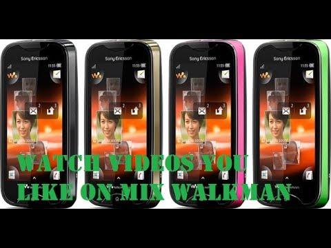 Sony Ericsson Mix Walkman Video Conversion