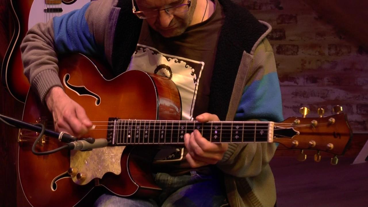 Vintage-Guitar Oldenburg presents a Schulz jazz guitar ...