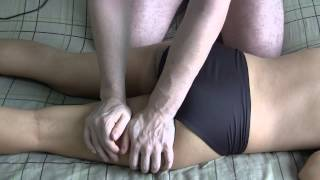Butt Massage in black panties