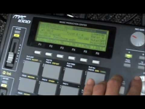 IN THE LAB- Cpt. Hyperdrive on the MPC 1000