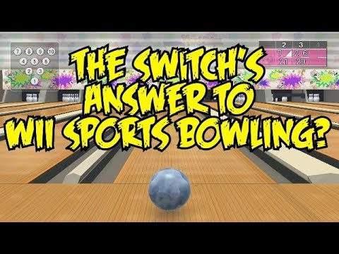 Wii Sports Bowling On The Nintendo Switch? - Knock 'Em Down! Bowling