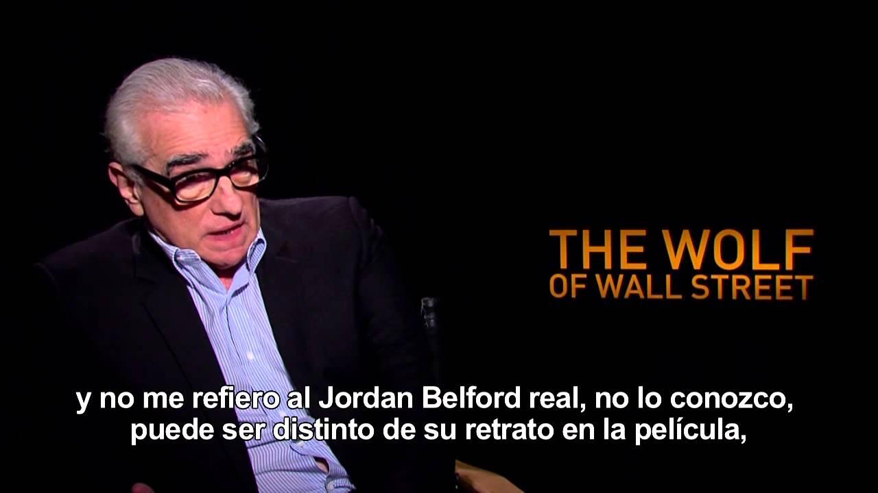 El Lobo De Wall Street Entrevista A Martin Scorsese Youtube