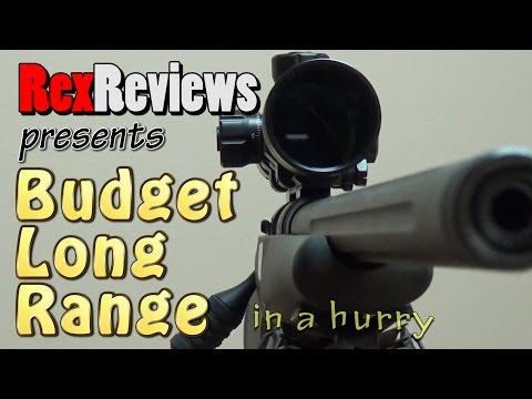 Budget Long Range Rifle That's WAY TOO EASY - Savage 10 FCP-SR With PA 4-14x44 HUD DMR ~ Rex Reviews