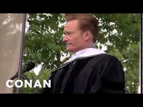 conan obrien graduation speech dartmouth
