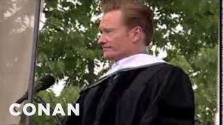 Repeat youtube video Conan O'Brien's 2011 Dartmouth College Commencement Address