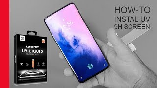 How-to: Mocolo 9H Tempered UV Glass Screen Protector instal OnePlus 7 Pro