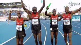 Kenya holds on to win 4x800 Relay at Worlds - Universal Sports