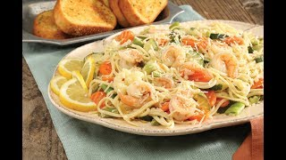 Tuscan Shrimp Linguine