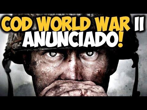 Call of Duty: WORLD WAR II Anunciado OFICIALMENTE! Trailer em breve! 🔫