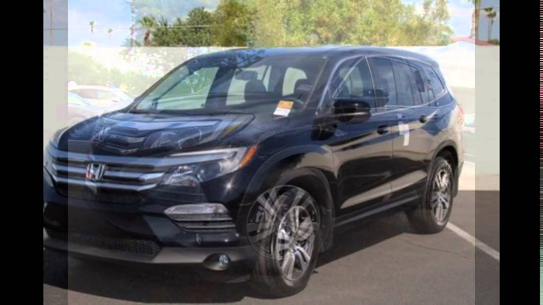2016 honda pilot crystal black pearl youtube for Black honda pilot
