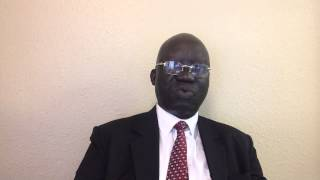 Dr  Wani calling the People of greater Equatoria to rise