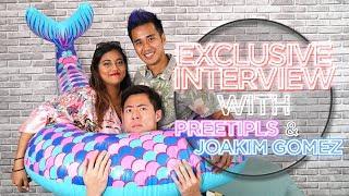 honeymoon baby announcement? preetipls joakim gomez interview with tsl giveaway