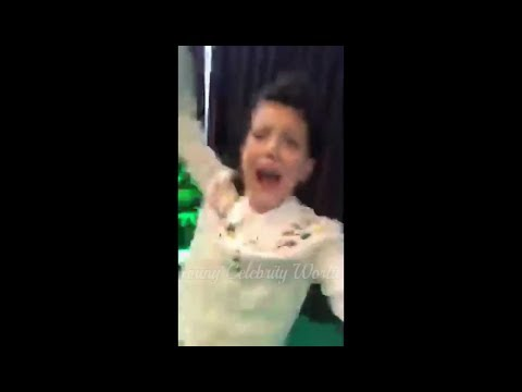 Millie Brown freaks out at Romeo Beckham comment