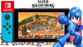 Super Smash Bros. Ultimate | Team Fight Gameplay | Upcoming Nintendo Switch
