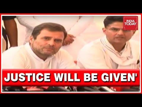 Press Conference   Rahul Gandhi Visits Alwar Gang Rape Survivor