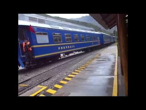 Tren Hiram Bingham, camino a Machu pichu