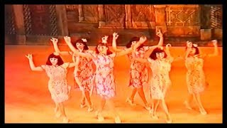 Kings Theatre Dancers  (Act 1 Scene 1 Part 1) Aladdin Kings Theatre Southsea 1996-97 HD