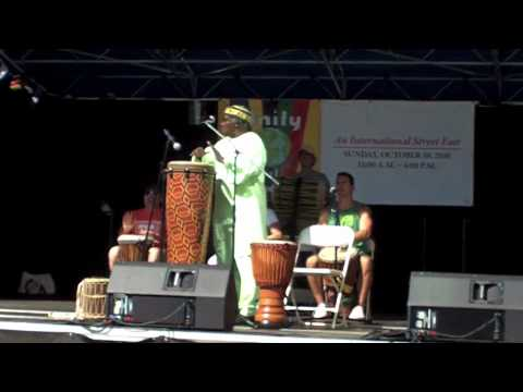 Ayo Adeyemi Traditional African Drumming and Singing Part 2