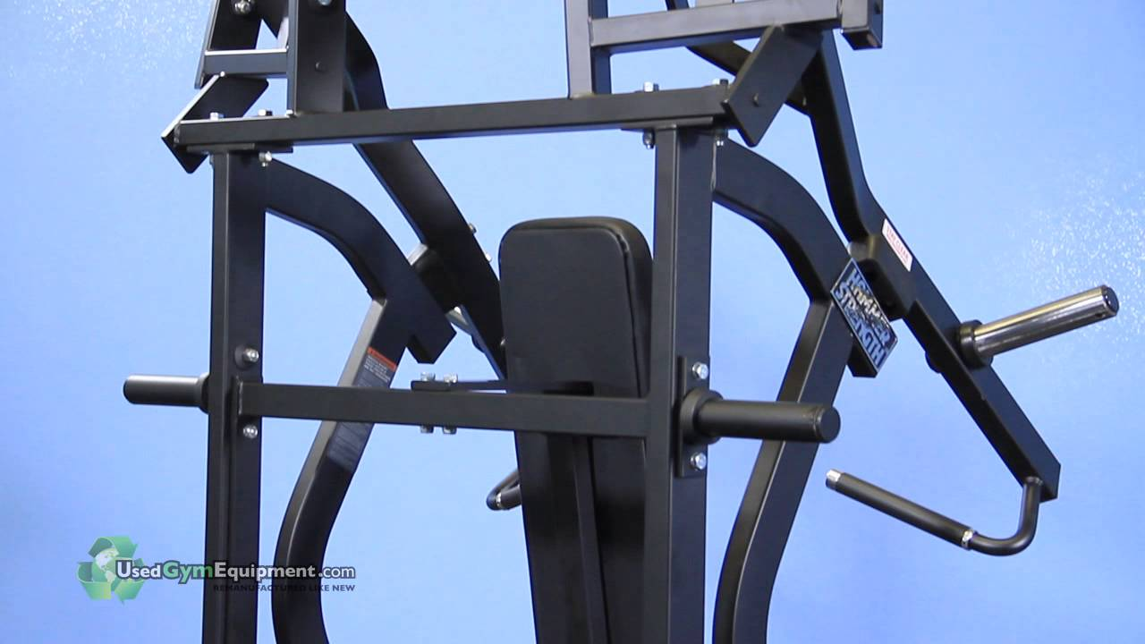 Used Gym Equipment - Hammer Strength Plate Loaded Iso-Lateral Incline Press