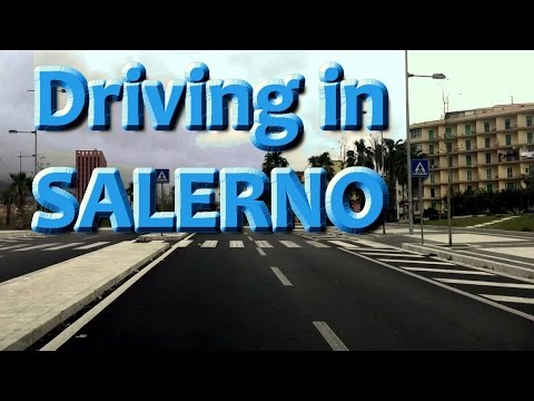 DRIVING IN SALERNO (ITALY)