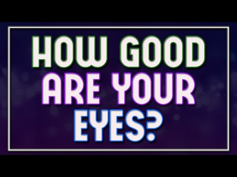 Thumbnail: How Good Are Your Eyes? - 92% fail