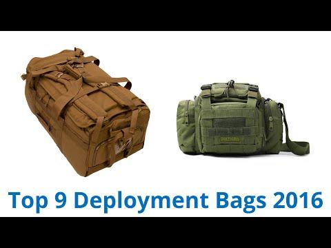 9 Best Deployment Bags 2016