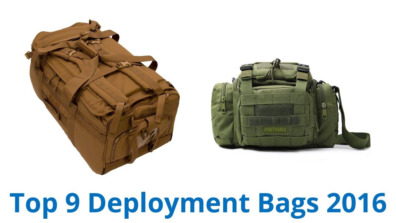ea2dd2acb7 9 Best Deployment Bags 2016 - YouTube