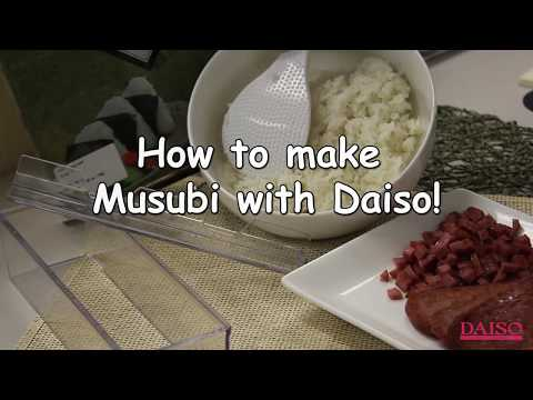 How to Make Spam Musubi Fast and Easy Peasy with Daiso! : #1