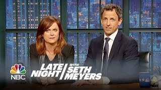 Amy Poehler and Seth Reunite for a New Really!?! - Late Night with Seth Meyers