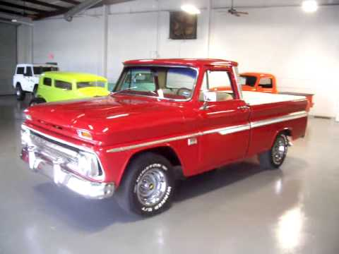 1966 Chevrolet C10 Short Bed Big Window Pick Up For Sale