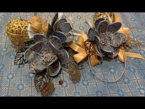 DIY FLOWERS IDEAS + Cara buat bunga telur songket