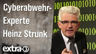 Cyberabwehr-Experte Heinz Strunk