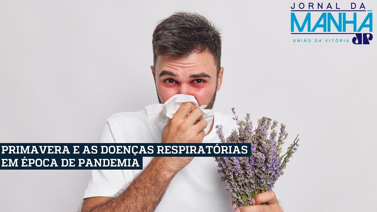 Como diferenciar os sintomas de alergia e covid-19 na primavera?
