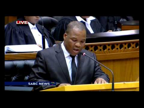 Parliament debates the Marikana report, 13th August 2015