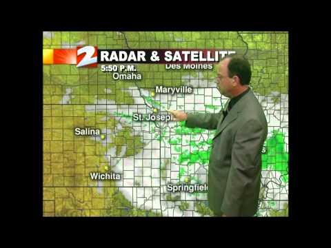 KQTV-2 St. Joseph, MO 5 pm weather July 30, 2012