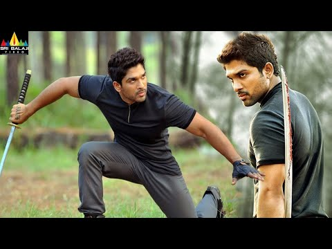 Iddarammayilatho Movie Climax Fight Scene | Allu Arjun, Amala Paul | Sri Balaji Video